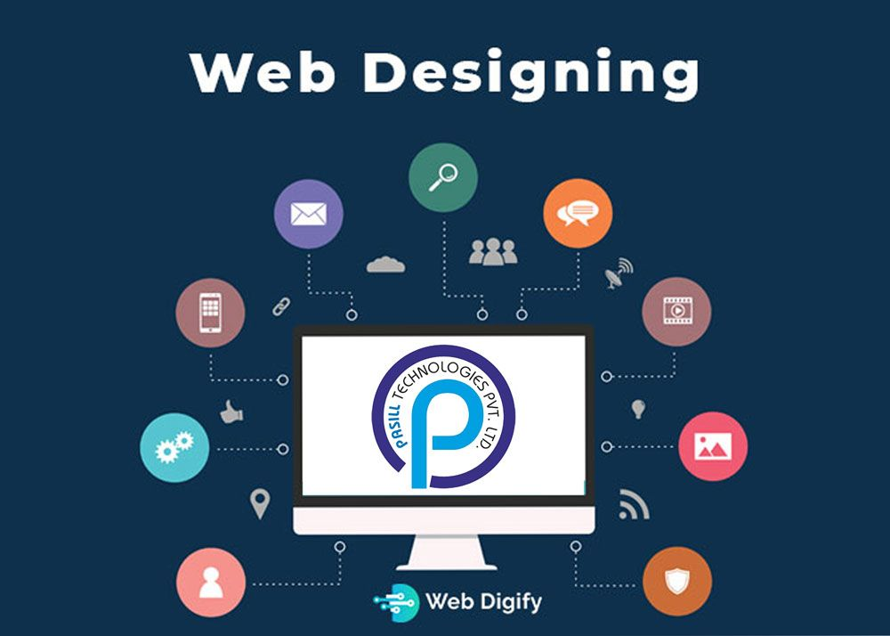 Web Designing Industrial Training In Zirkapur Web Development Company Online Marketing Companies Web Design