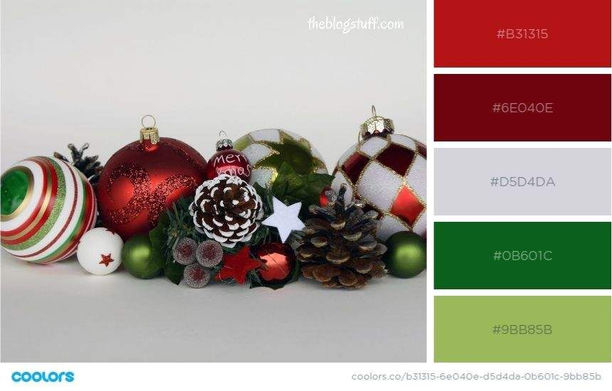 17 Christmas Color Palettes | Color Schemes & Trends (2020) in