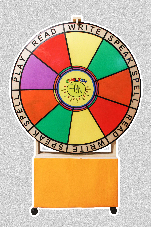 Ruleta English Fun Un Producto Versátil Para El Maestro Ya