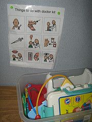Great way to teach pretend play!
