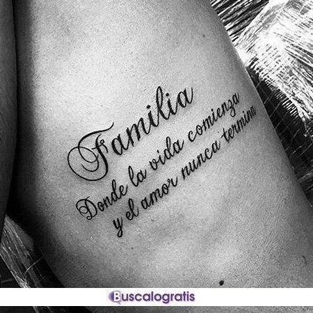 Frases Para Tatuajes En Espanol Frases Tatuajes Tattoos