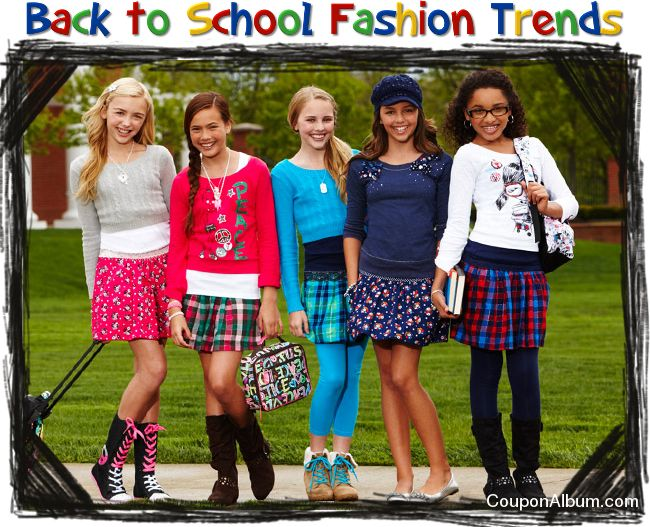 Back to School Fashion Trends | C | Pinterest