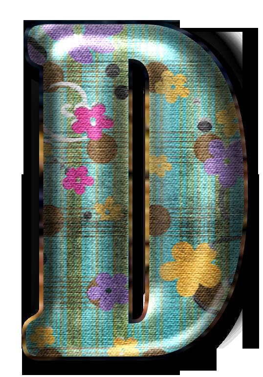 Lettere semplici custodia per cellulare alfabeto floreale con