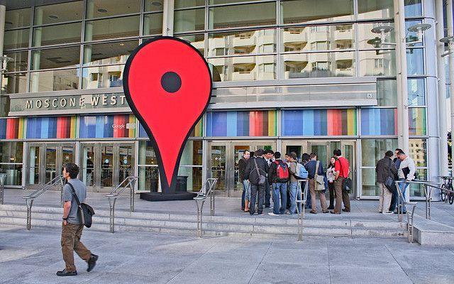 San Francisco  Giant Google pin  Google Maps Street View