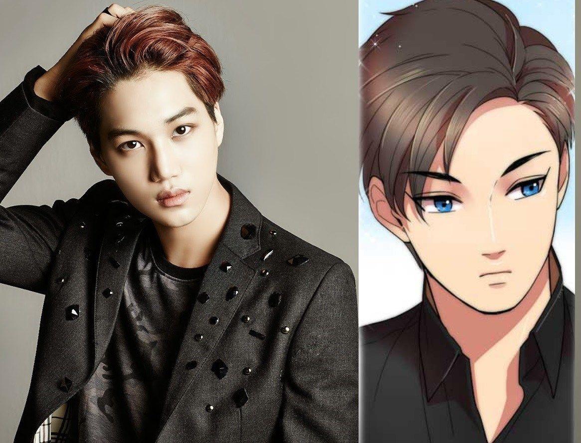 11 Celebs Who Look Exactly Like Anime Characters Anime Characters Celebrities Male Kpop