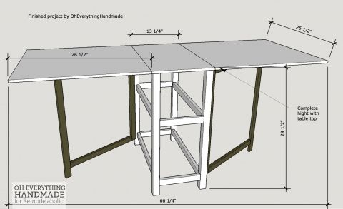 Foldable Craft Table Finished Table Craft Table Diy Craft