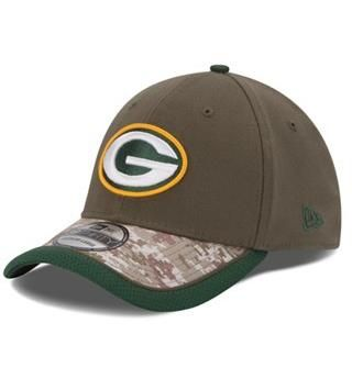 ecff9becbf69be Green Bay #Packers New Era 39THIRTY Salute to Service Hat. Click to order!
