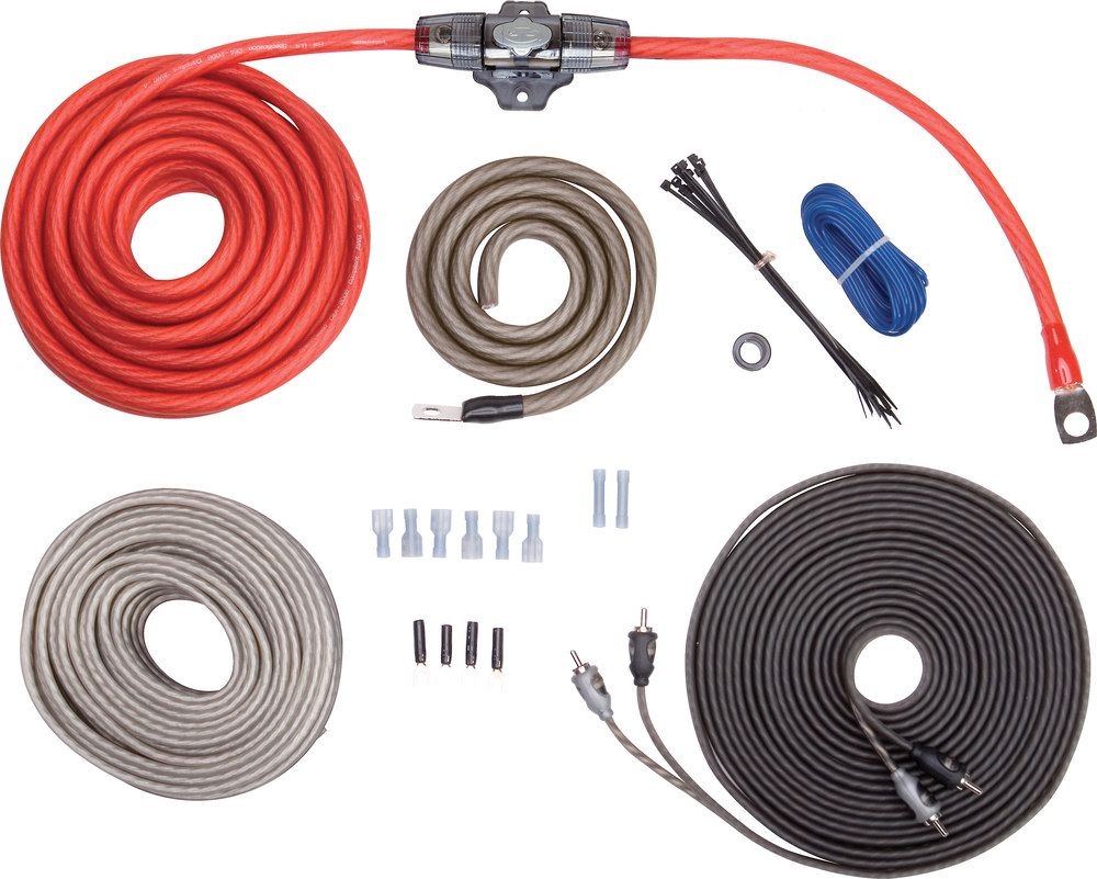 Rockford Fosgate Rfk4x Pinterest And Jeeps Awg Gauge Complete Amplifier Wire Install Kit 4g Amp Wiring Ebay This Includes Patch Cables Speaker For A 2 Channel Or Mono Youll Need To Add Multi Amps Your
