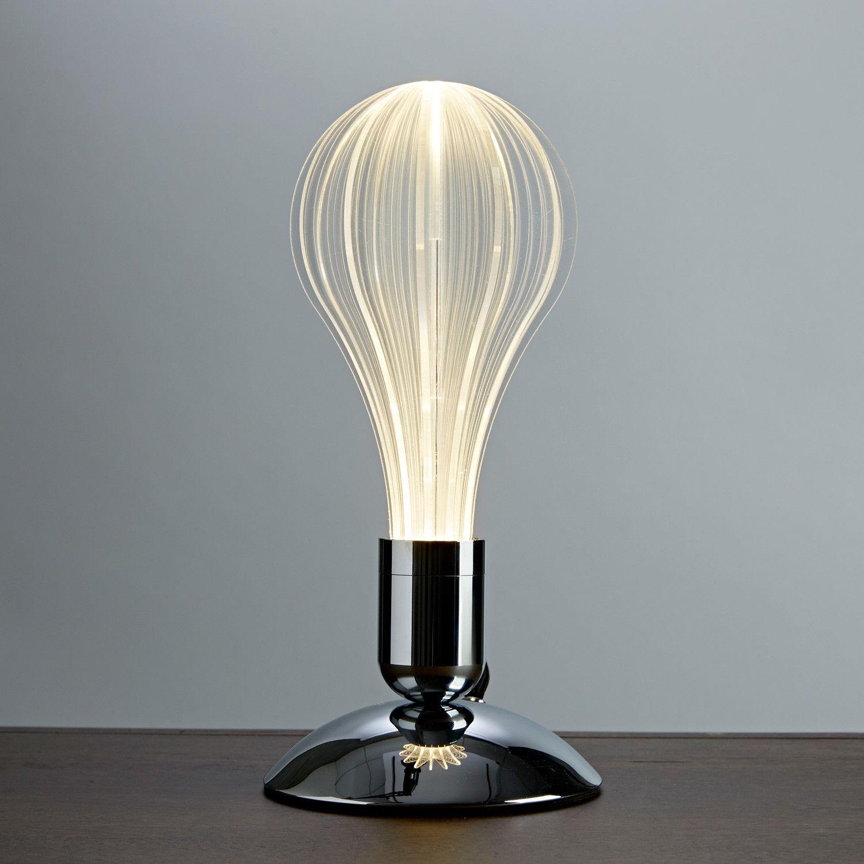 Modern And Innovative Uri Led Laser Etched Desk Lamp Design Lighting Lightbulb Homedecor Interiordesign Interior Produc Lamp Modern Lamp Led Light Bulb