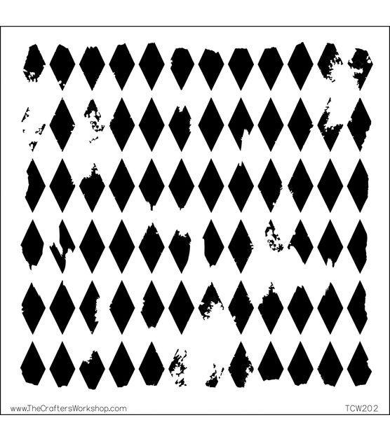 "Crafter/'s Workshop Template 6/""X6/""-Sheet Music"
