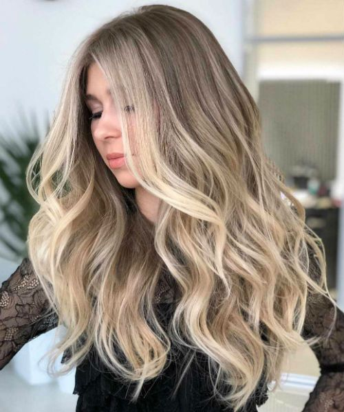 13 Of The Unbelievable Long Wavy Hairstyles 2020 For Women That Are Just Amazing Messy Hairstyle Long Hair Trends Hair Styles Balayage Hair