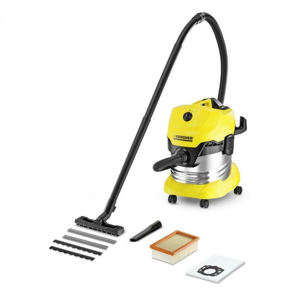 Karcher Wd4 Premium Wet And Dry Vacuum Aspirateur Eau Et Poussiere Aspirateur Nettoyage Industriel