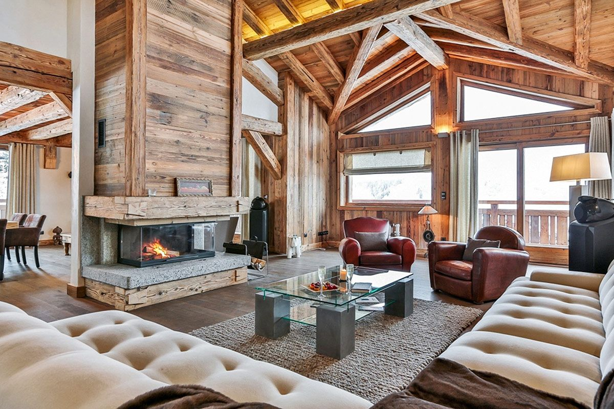 Lovely Warm U0026 Wonderful: 5 Chalets In The Alps   Chalet Dalia, Megeve Amazing Design