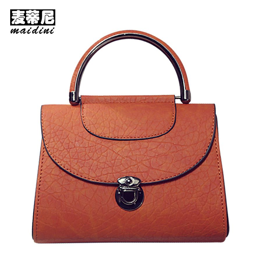 b2fc5de53d62 Vintage Crossbody Bags for Women PU Leather Flap Shoulder Bag Ladies Causal  Mini Satchel Shopping Daily