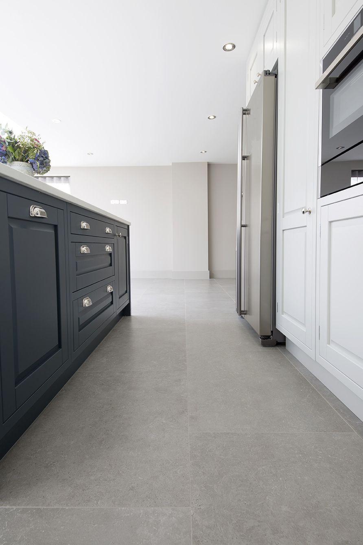 Okehampton English Grey Porcelain Stone Tiles Mystonefloor Tile Floor Ceramic Tile Floor Living Room Kitchen Flooring