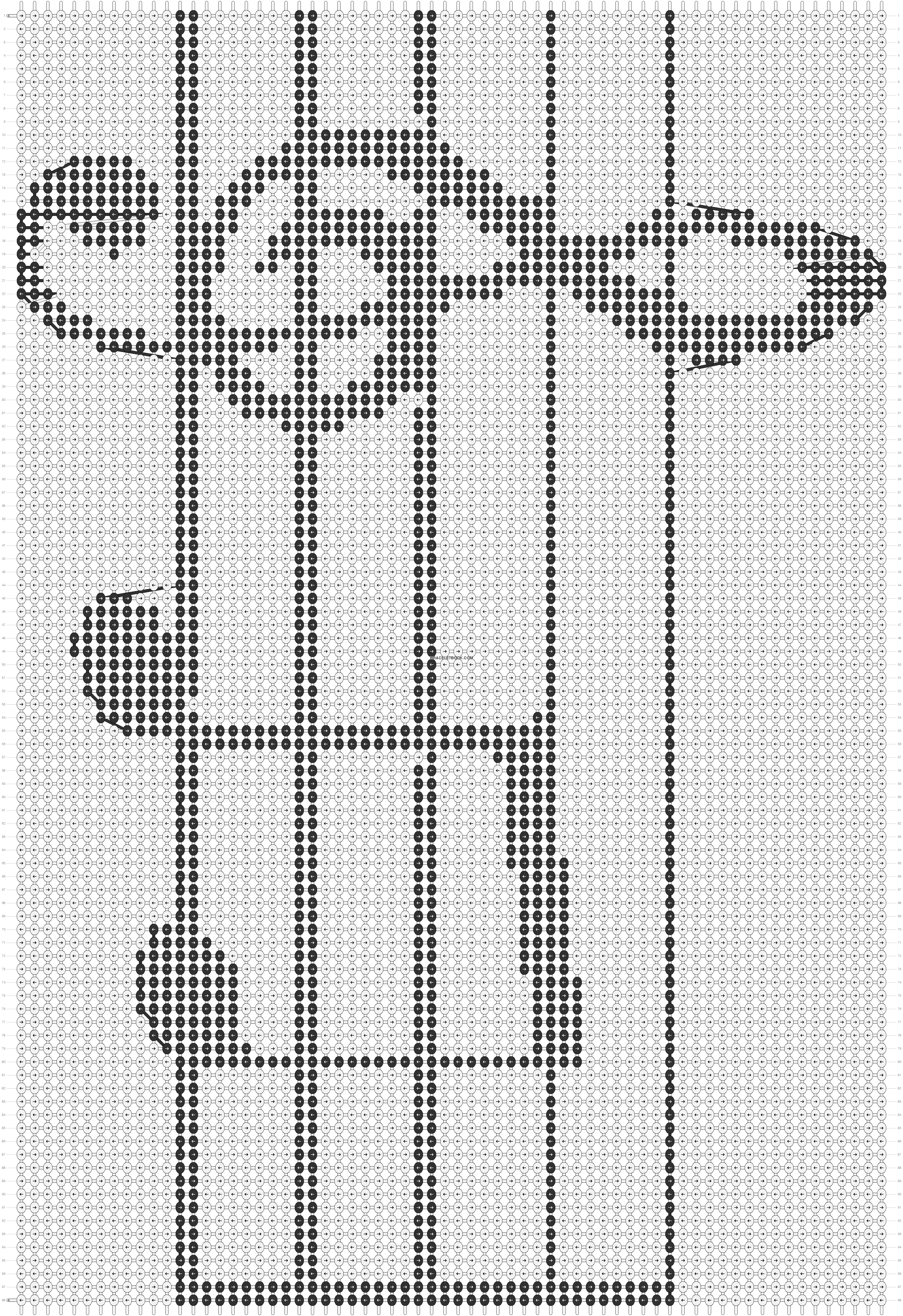 Alpha Pattern #12442 added by shamina123 | Charts | Pinterest