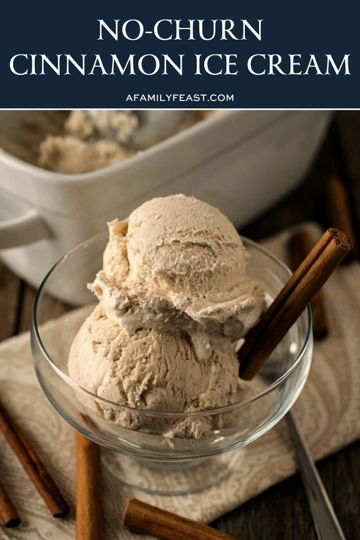 Churn cinnamon ice cream No Churn cinnamon ice creamNo Churn cinnamon ice cream This peanut butter recipe is so simple to make  all you need is a food processor and 15 mi...