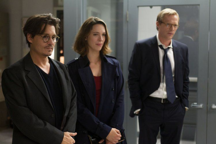 Johnny Depp Paul Bettany And Rebecca Hall In Transcendence 2014 Johnny Depp Johnny Movie Marvel Actors