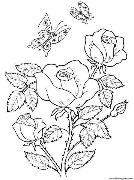 campos de flores para colorear dificiles - Buscar con Google | PARA ...