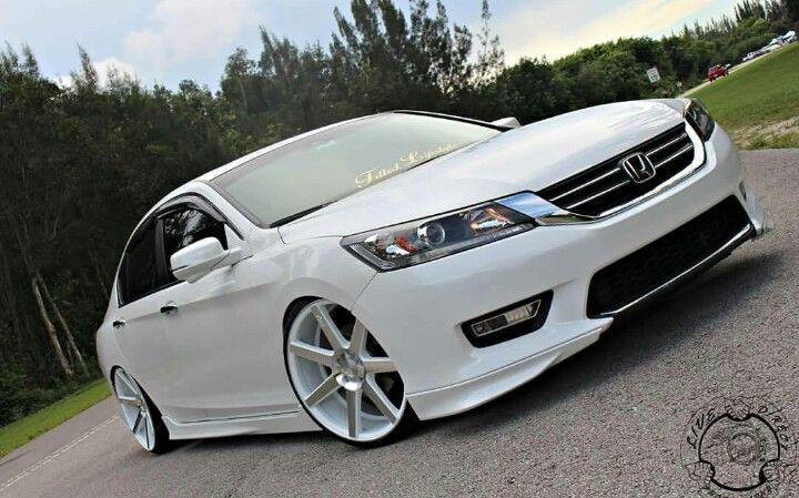 Honda Accord Custom Wheels Spicestudios Luxury Living
