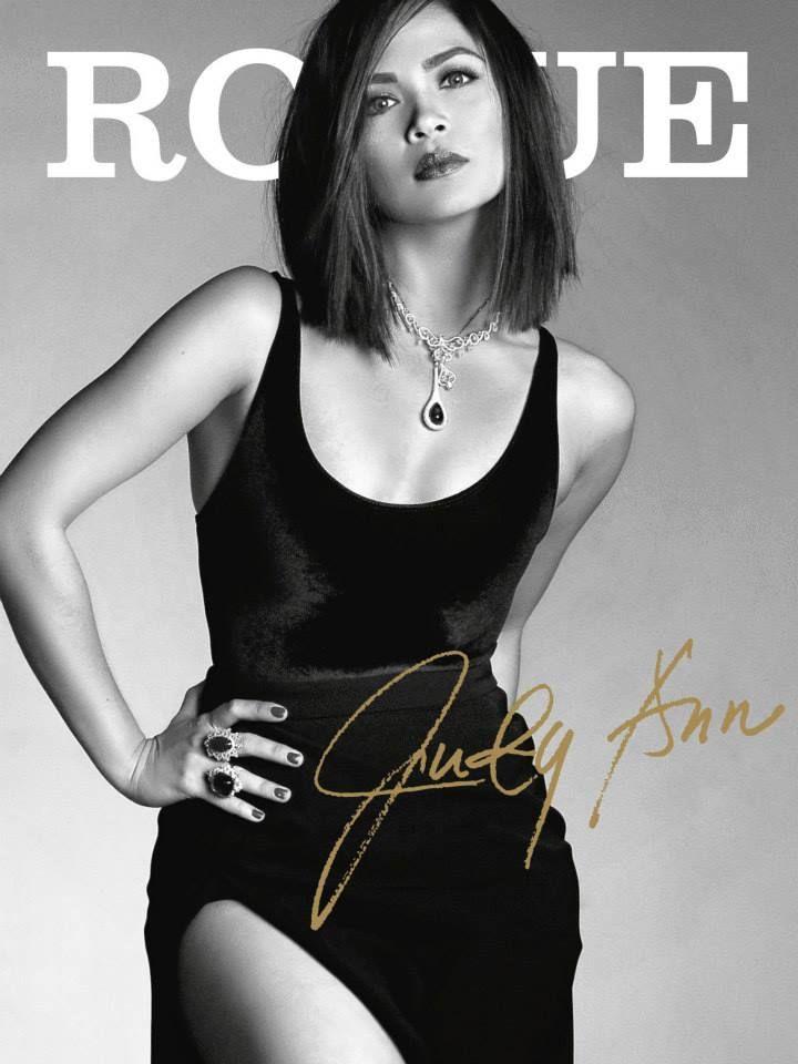 Judy Ann Santos September 2013 Rogue Magazine Pinterest Rogue