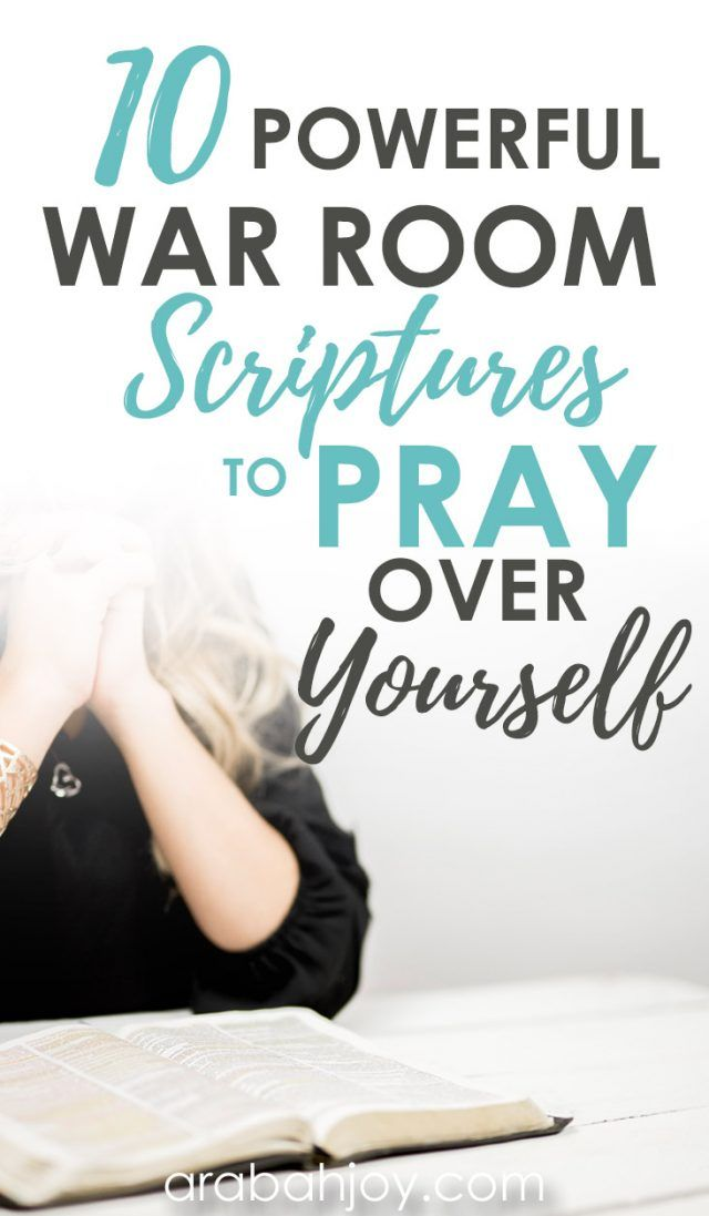 10 Powerful Scriptures for War Room Prayers + FREE Printable