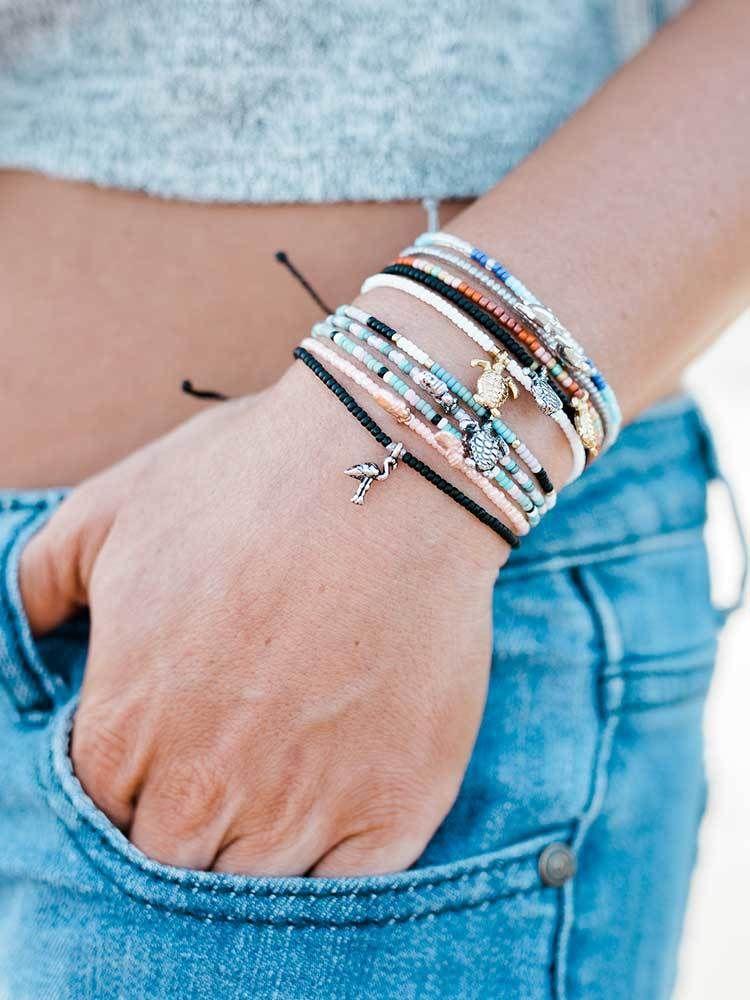 Charm Bracelet - Blue Pearl Spiral by VIDA VIDA NqtBkJjVJu