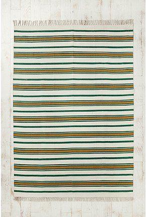 dublin woven stripe rug