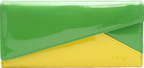 Femina Bright Triangle Clutch Wallet with a NutriChart GreenYellow * Be sure to check out this awesome product.