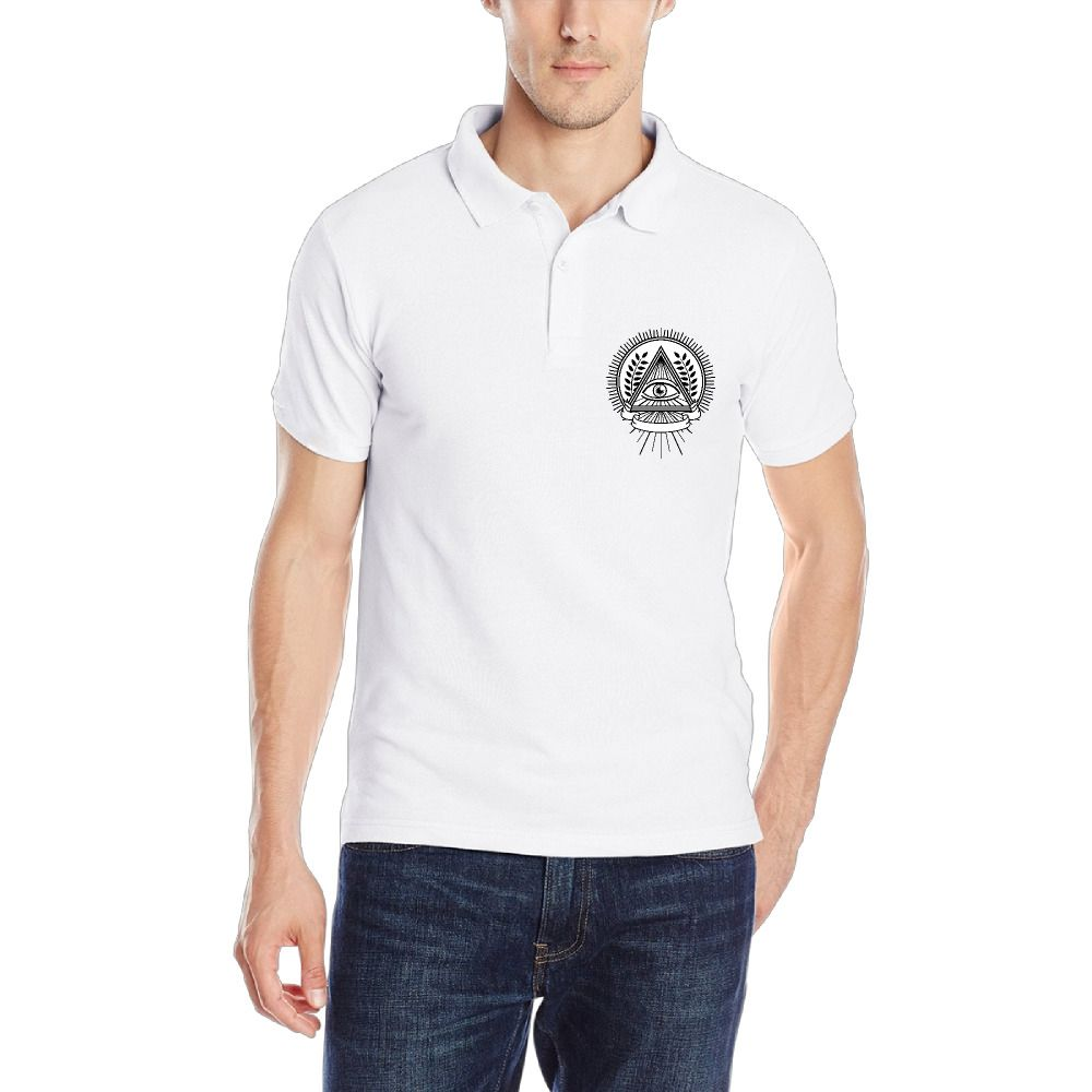 ddad0365955c6 Newest Summer Men Hip Hop Polo Solid Cotton Outdoors Fitness Casual Short  Sleeve Polos Shirt Personalized