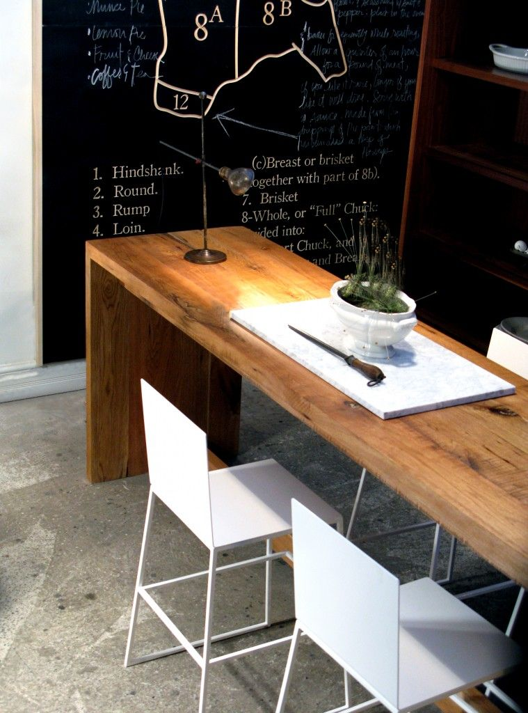 Would Love Long Narrow Tables One For Laptop Desk Another For - Slender dining table