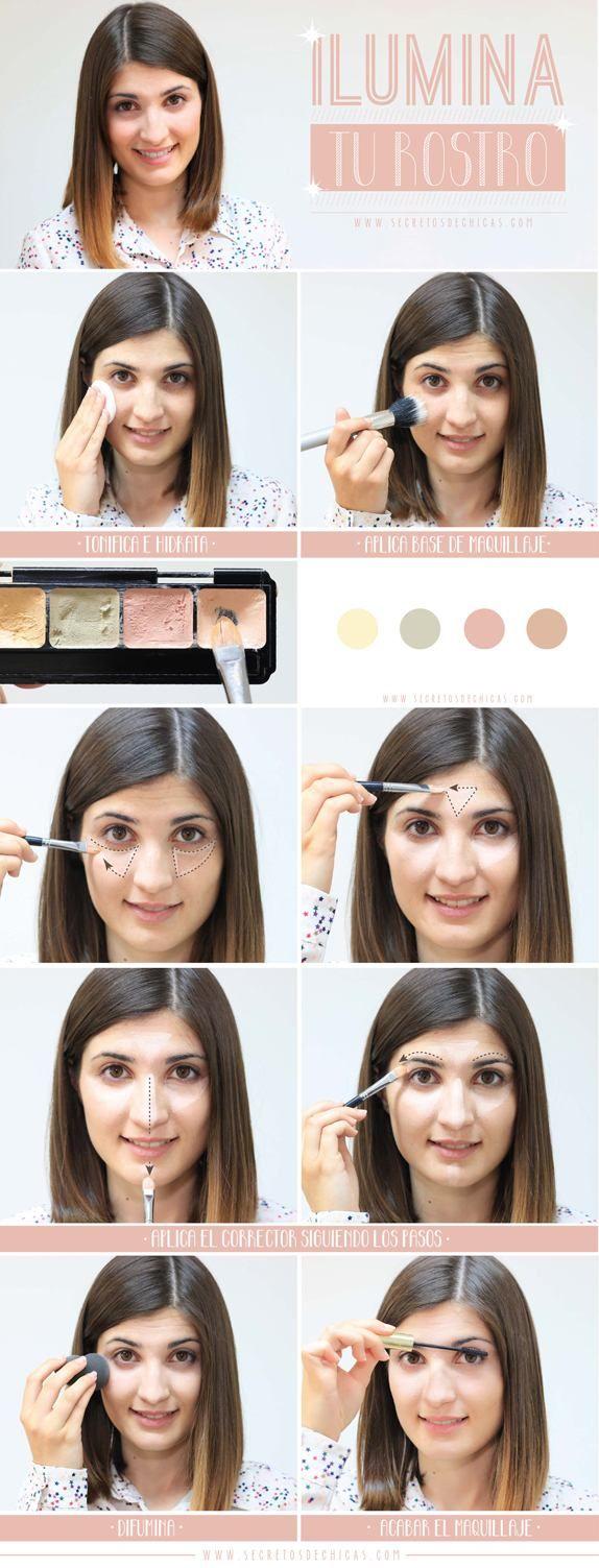 Trucos para iluminar el rostro correctamente