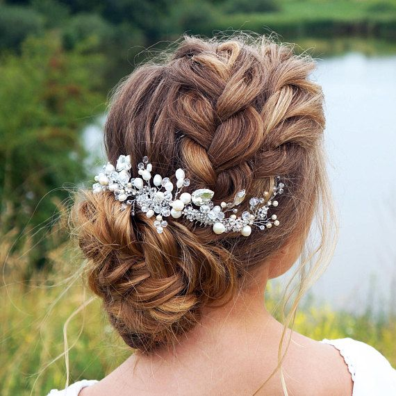 Quirky Wedding Hairstyle: Bridal Headpiece-Wedding Headpiece-Bridal Hair Piece