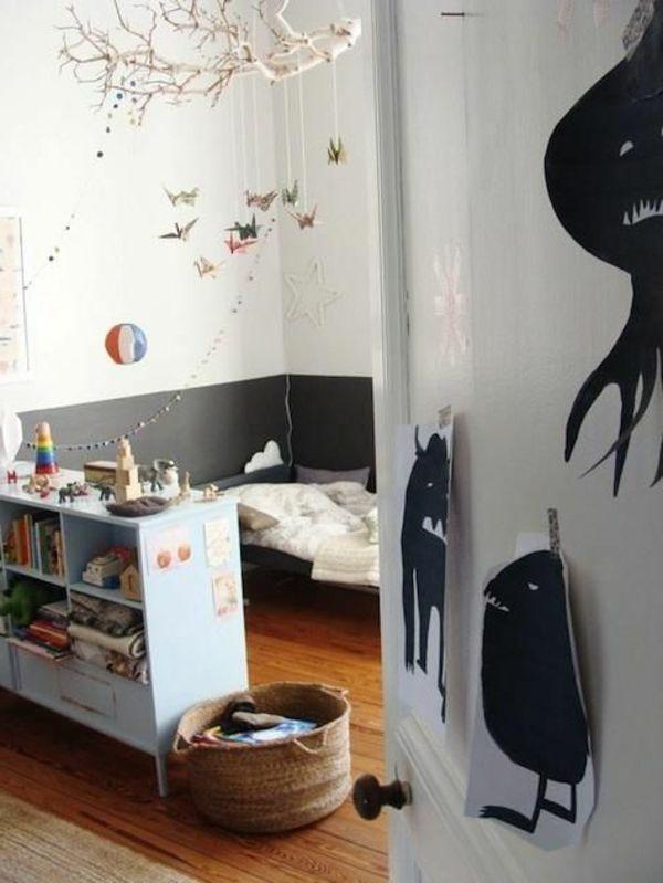 Kinderzimmer Originell Wandgestaltung Gestalten Ideen Deko