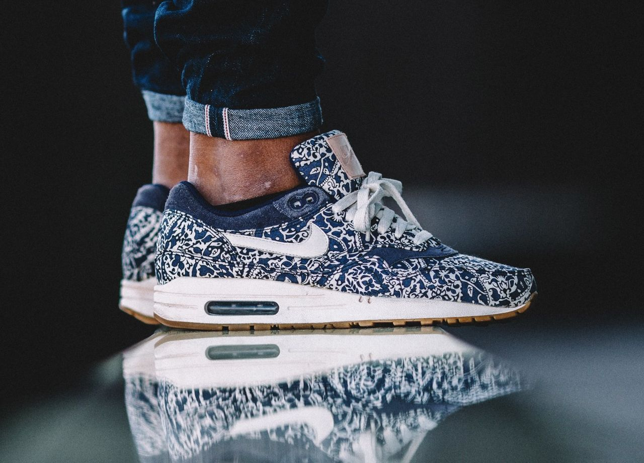 best cheap 9d131 9b560 Liberty x Nike Air Max 1 ND wmns - Imperial Purple Sail (by marvinhilt)