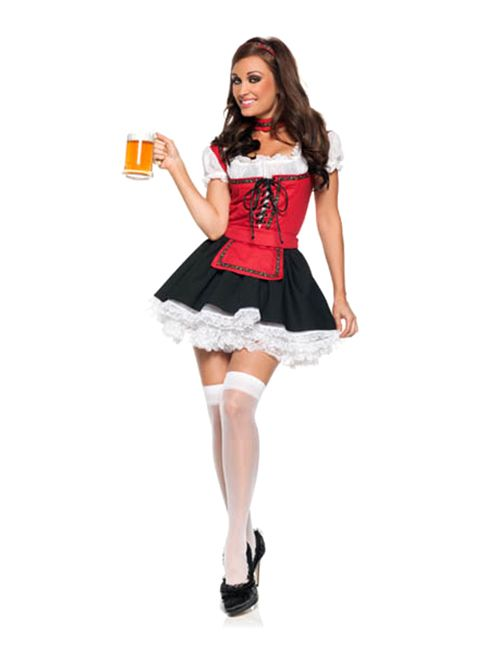 2a6611a9628 BAR MAID LATE NIGHT BEER GIRL COSTUME ROLE PLAY