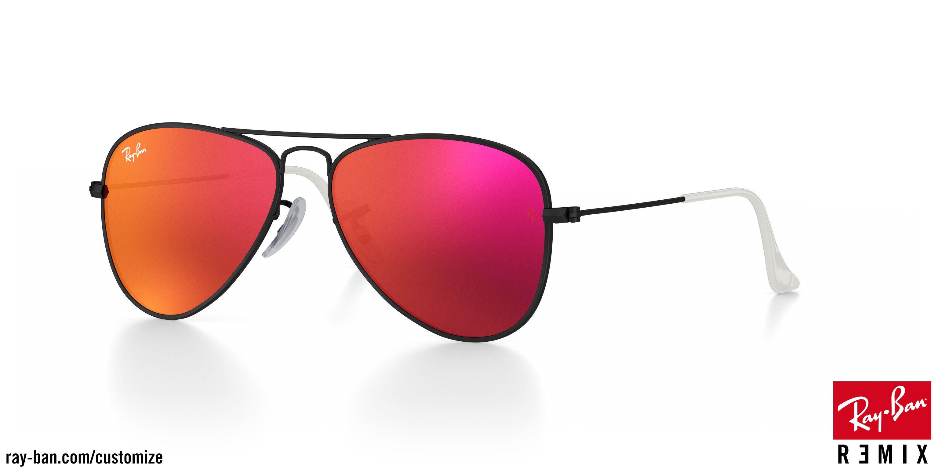 448bba1d2966b2 Regardez qui a juste obtenu ce nouveau Ray-Ban aviator junior lunettes de  soleil