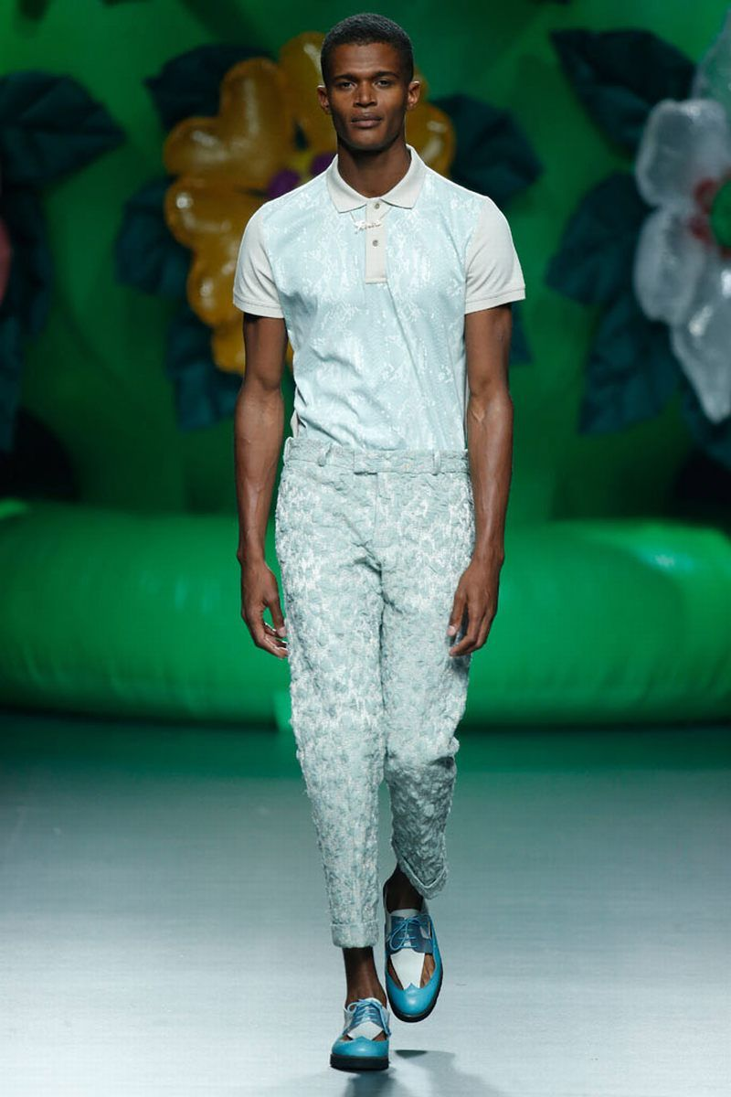 Ana Locking Spring Summer 2016 Mercedes Benz Fashion Week Madrid