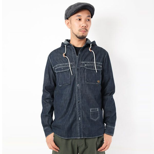 hooded/denim/BD