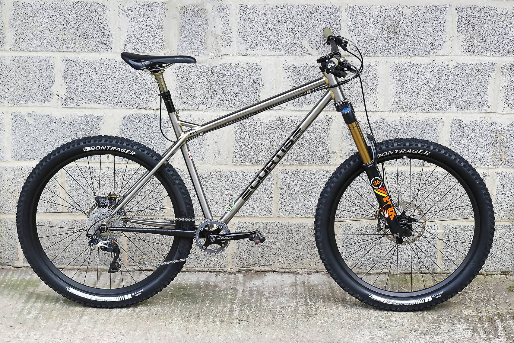 The Curtis Am7 is our new all mountain hardtail frame for 27.5 ...