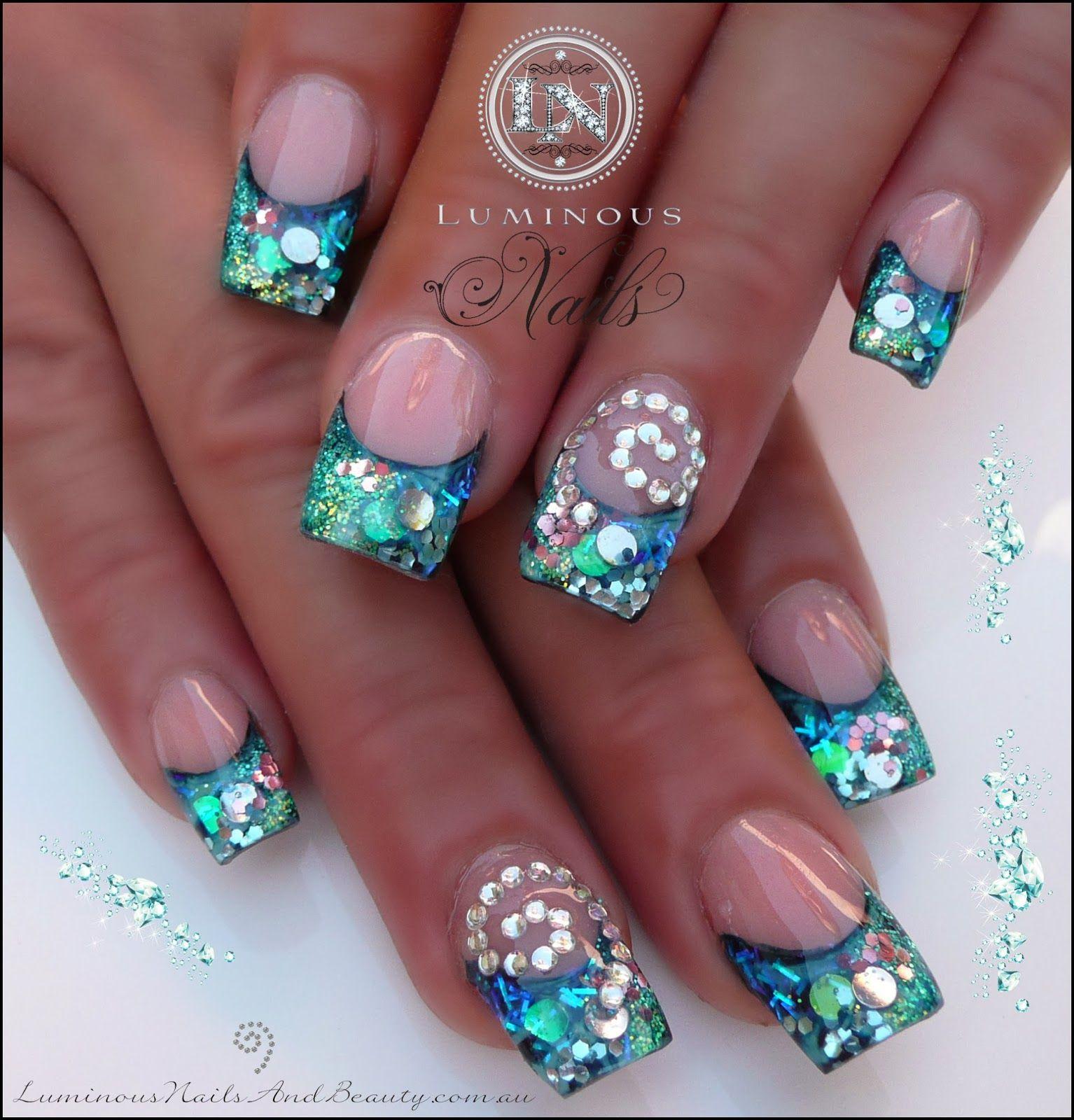 Glitter Gel Nail Polish Nz | Hession Hairdressing