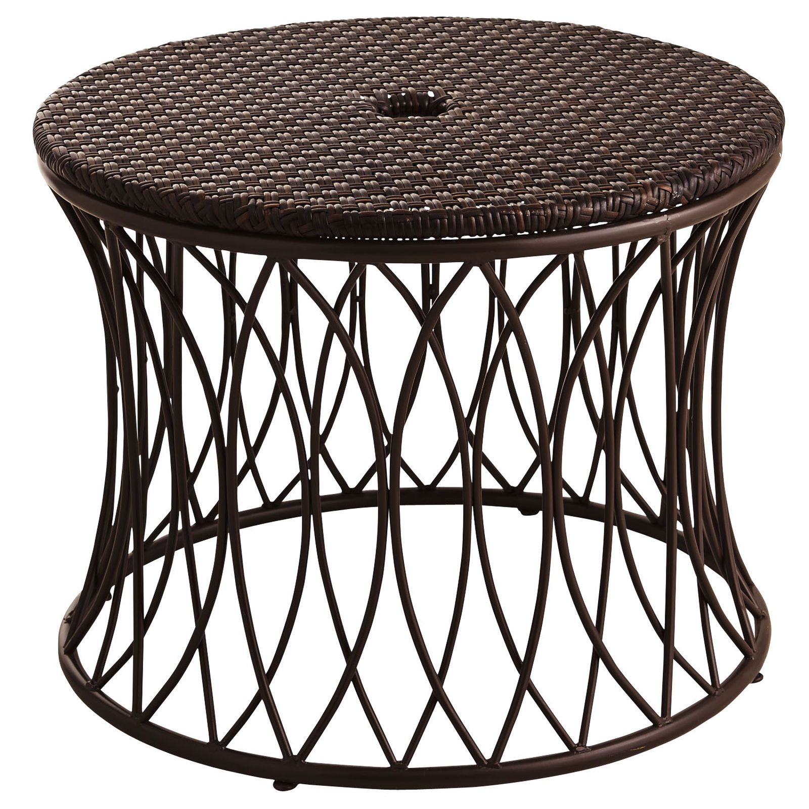 This Decorative Low Table Provides Extra Stability And Style For Your Patio Umbrella Simply Place Outdoor Umbrella Table Patio Umbrella Stand Outdoor Umbrella