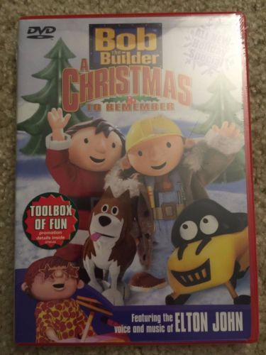 sealed bob the builder a christmas to remember - Bob The Builder A Christmas To Remember