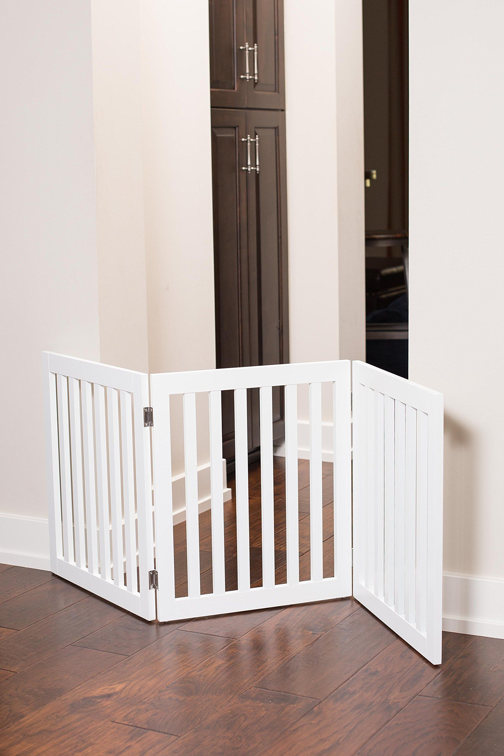 Best traditional pet gate 3 panel 24 inch step