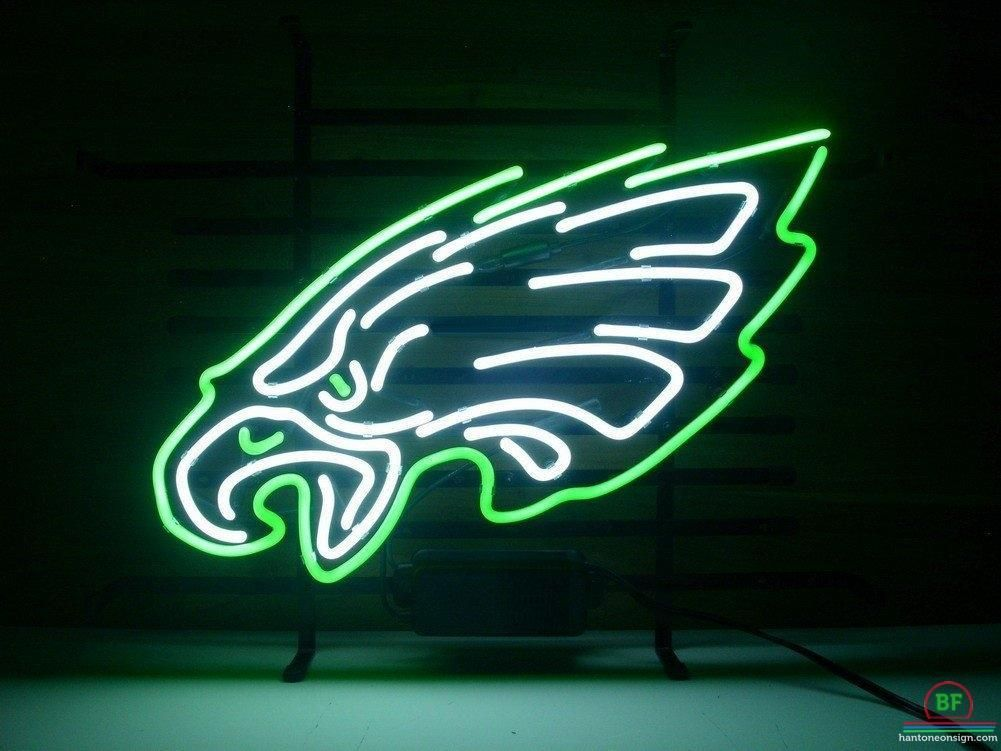 Philadelphia Eagles Neon Sign NFL Teams Neon Light Neon