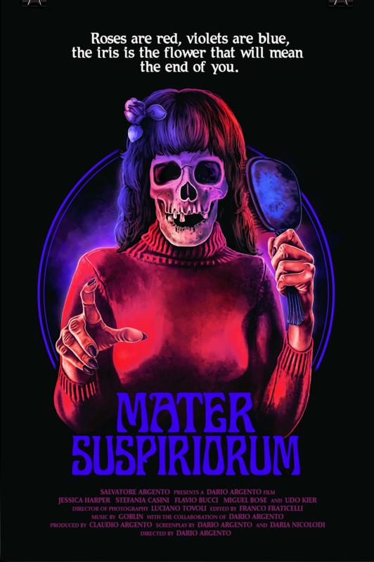 MURDER ROCK Movie Poster Horror RARE
