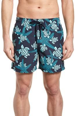 3b6b099f2c VILEBREQUIN Designer Starlette Turtle Print Swim Trunks | Clothing ...