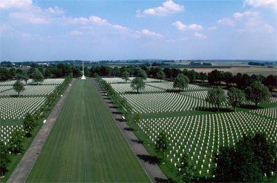 Amerikaanse Begraafplaats en Monument Nederland - Margraten - TracesOfWar.com