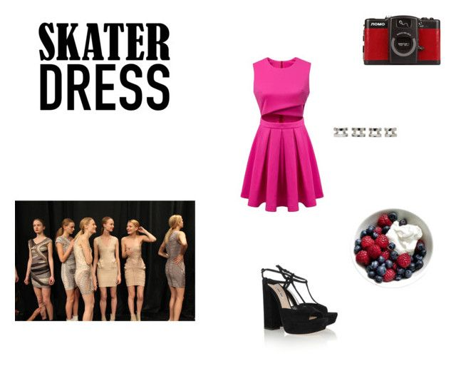 """Skater"" by vestido-azul ❤ liked on Polyvore"