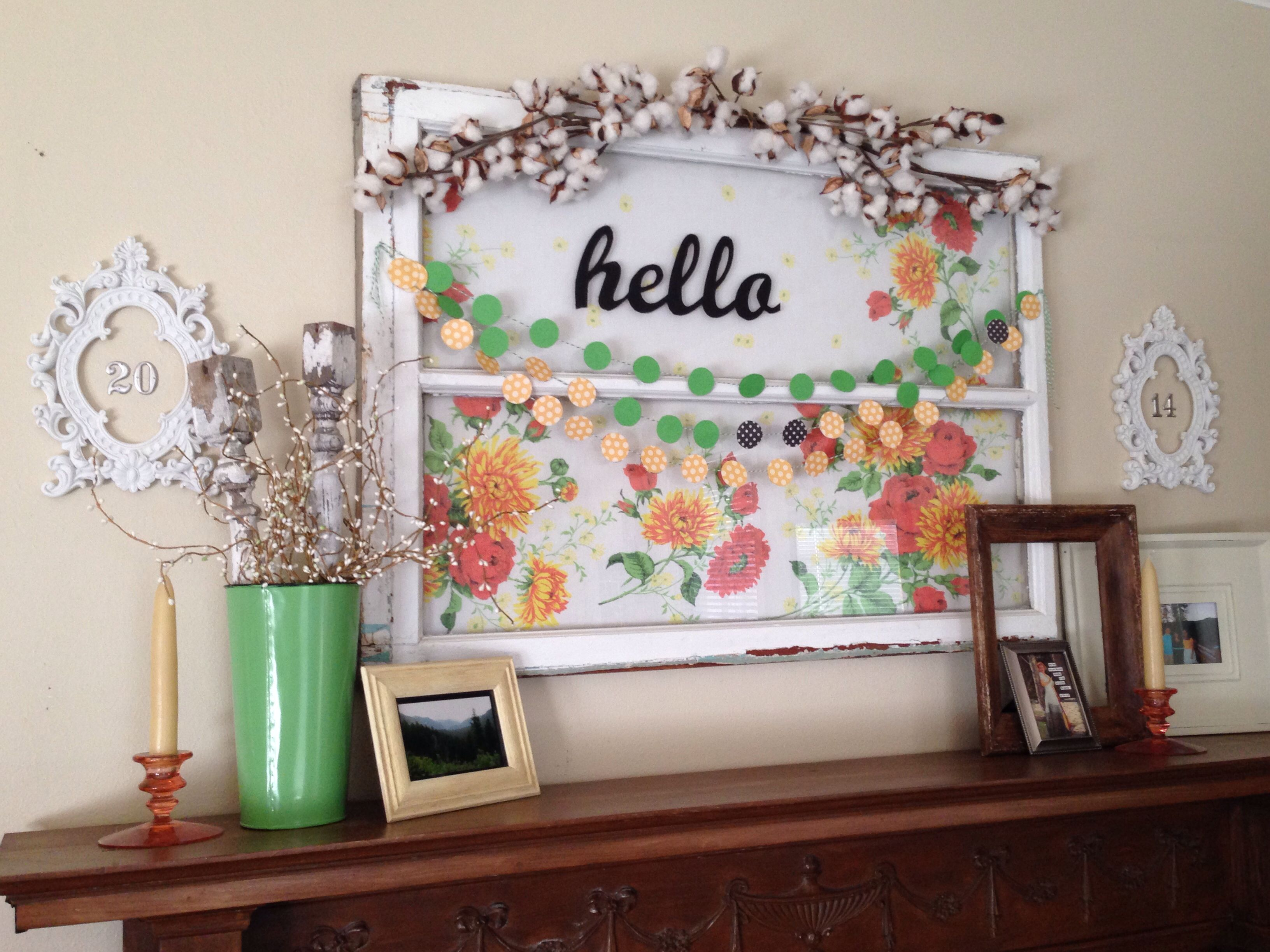 Mantel decor hello casa rosa pinterest for Casa mantel